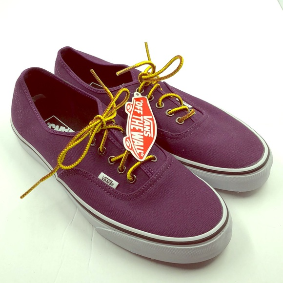 b4f571a131 Vans Off The Wall Purple Tennis Shoes 11